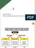 C 2 structure of atom