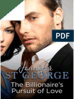 Jennifer St George - Billionaire's Pursuit of Love