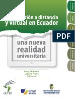 2. Libro2013 La Educacion a Distancia y Virtual en Ecuador