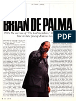 Brian De Palma interview