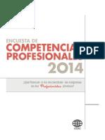 Cidac - Encuesta de Competencias Profesionales 2014