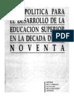 Una Politica Para El Desarrollo Libro Completo