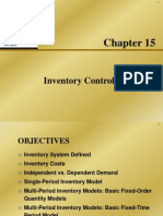 Chap015 Inventory Control