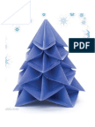 Origami Christmas Tree by Francesco Guarnieri