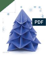 Origami Christmas Tree by Francesco Guarnieri