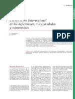 Clasificacion Internacional de Las Deficiencias, Discapacidades y Minusvalias