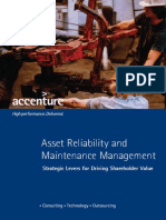 Accenture Asset Reliability Maintenance Management