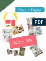 Mídia Kit Blog Casa e Fogão