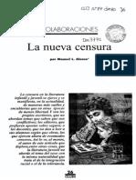 Alonso, M - La Nueva Censura