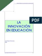 TEJADA (2002)La Innovacion Educacion