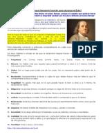 13 Mejores Habitos-Benjamin Franklin