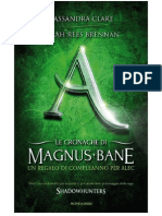 Le Cronache Di Magnus Bane - Un Regalo Di Compleanno per Alec