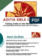Aditya Birla Group Final PPT