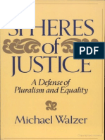 Spheres of Justice a Defense of Pluralism and Equality