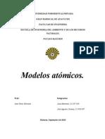 Modelos Atomicos( Juan y Timo)