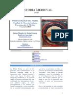 Programa Historia Medieval