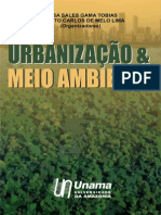Livro Urbanizacao e Meio Ambiente