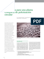 Tecnología para una planta compacta de peletización circular