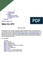 Make the APC