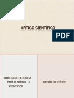 ARTIGO CIENTÍFICO  EST 2013