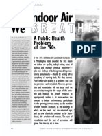 The Indoor Air We Breathe