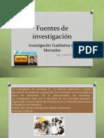 FUENTES DE INVESTIGACIÓN