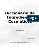 Diccionario de Ingredientes Cosmeticos