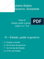 Apresentação Norberto BOBBIO - BH0101 Estado e Relações de Poder - UFABC