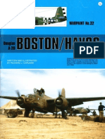 (Warpaint Series No.32) Douglas A-20 Boston/Havoc