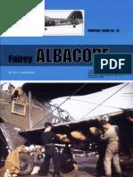 (Warpaint Series No.52) Fairey Albacore