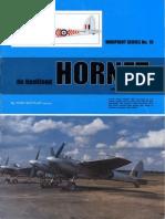 (Warpaint Series No.19) de Havilland Hornet and Sea Hornet