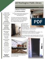 WWPL March 2014 Newsletter