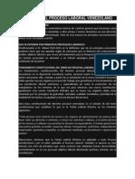 PRINCIPIOS DEL PROCESO LABORAL VENEZOLANO 4to año unellez