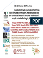 Biomass Production Water Purification Pig Manure PMorand EECA2009