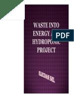Plasma cogeneration of waste and Aquaponics