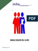 MANUAL DEl Curso Manejo Seguro Del Cloro