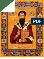 Liturgy of St. Basil (Elizabethan English) - staff notation