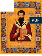 Liturgy of St. Basil (Modern English) - staff notation