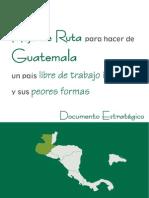 Guatemala Documento Estrategico Hoja de Ruta