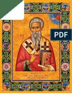 Liturgy of St. James (Eliz. English) - staff notation