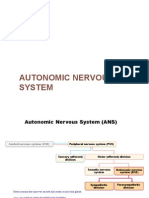 8a Autonomic Nervous System Notes