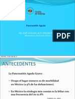 Pancreatitits aguda