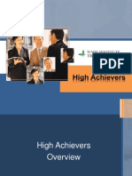 High Achievers Introduction