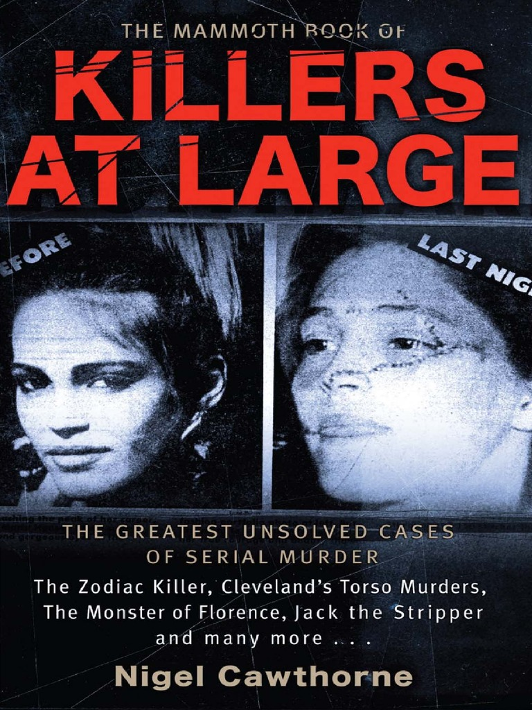 The mammoth book of killers at large gnv64 crime justice justice fandeluxe Images