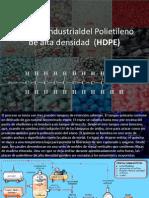 Proceso Polietileno Baja y Alta