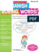 Banish Boring Words - Scholastic