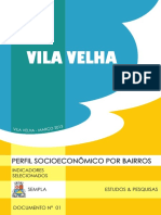 PERFIL SOCIOECONÔMICO POR BAIRROS DO MUNICÍPIO DE VILA VELHA