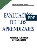 Evaluarción de los aprendizajes
