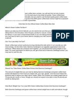 Green Coffee Fat Burn