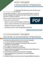 La comunicación intangible
